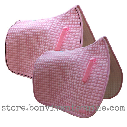 Baby Pink Dressage Saddle Pads | PRI Pacific Rim International