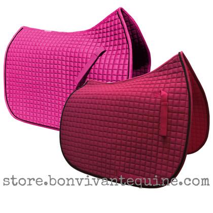 Magenta Hot Pink Dressage Saddle Pad | PRI Pacific Rim International