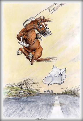 Horse Card:  A Quiet Hack #JT08