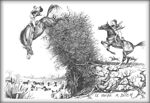 Horse Card:  Is there a Ditch? #LB23