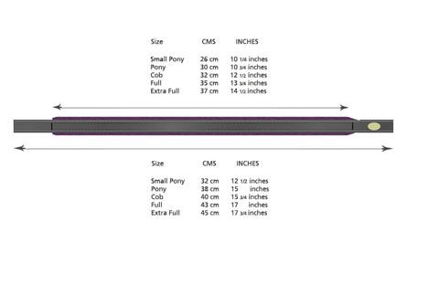 Browband Measurement Chart.