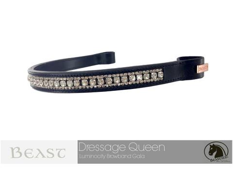 Luminocity Dressage Queen Straight Browband