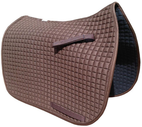 Chocolate Brown Dressage Saddle Pads