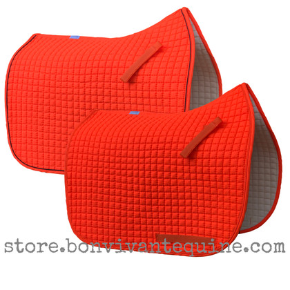 Neon Hunter Safety Blaze Orange Dressage Saddle Pads | PRI Pacific Rim International