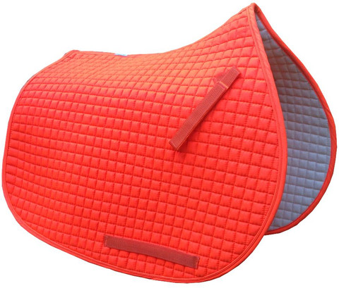 Hunter Safety Orange All-Purpose English Saddle Pad