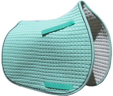 Mint Green Pony Saddle Pad.