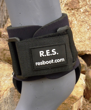 Each set of fetlock (ankle) boots comes with two black Velcro® straps (one strap per boot).  Additional Velcro Sold Sep. for your perfect boot color.