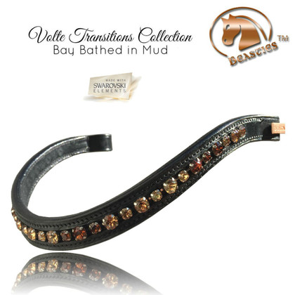 Stunning Dressage Browbands | Volte Transitions Gala by Beasties™