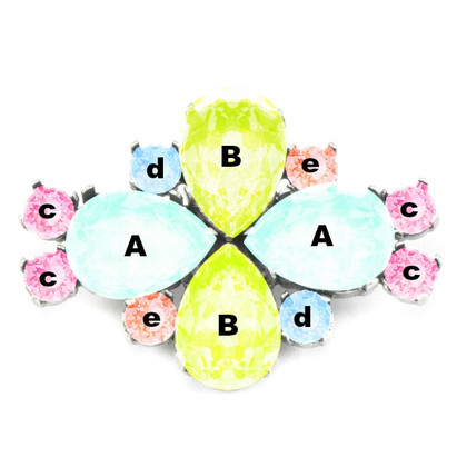 Custom Brooches.  Design Your Own Stock Pin to Coordinate with Your Dressage Outfit!