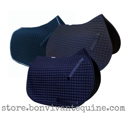 Navy Blue All-Purpose Saddle Pads   PRI Pacific Rim International