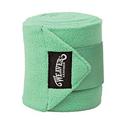 Weaver Mint Green Fleece Polo Wraps