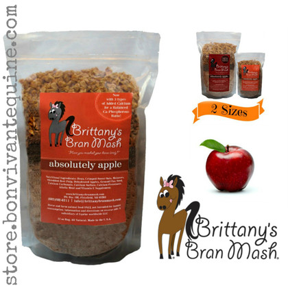 Absolutely Apple Bran Mash for Horses | Brittany's Horse Treats