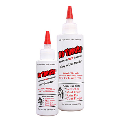 No Thrush® - The First Ever Dry Thrush Treatment for Horses