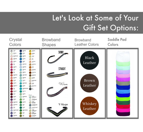 Equestrian Gift Set Options.   Build yours today!