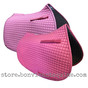 Candyfloss Pink All-Purpose English Saddle Pads by PRI Pacific Rim International.