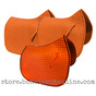 Pumpkin Orange Dressage Saddle Pads | PRI Pacific Rim International