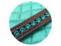 """Teal the Next Show"" Brilliance Browband and Teal Saddle Pad"