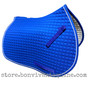 Royal Blue All-Purpose Saddle Pad with White Piping by PRI Pacific Rim