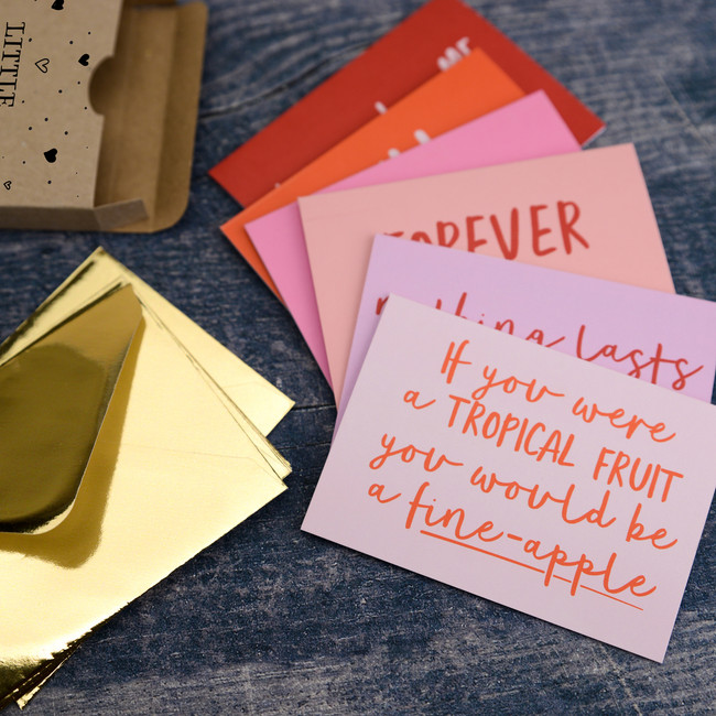 Little Box of Affection Note Card Set