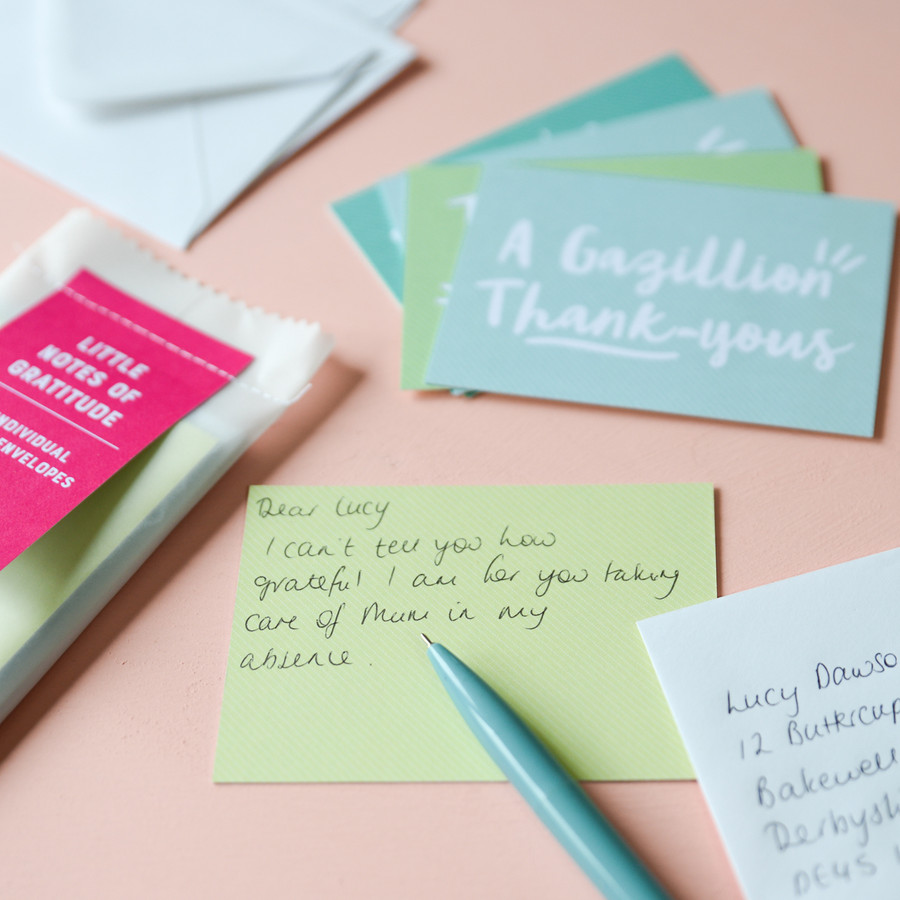 'Little Notes Of Gratitude' Notecard Set