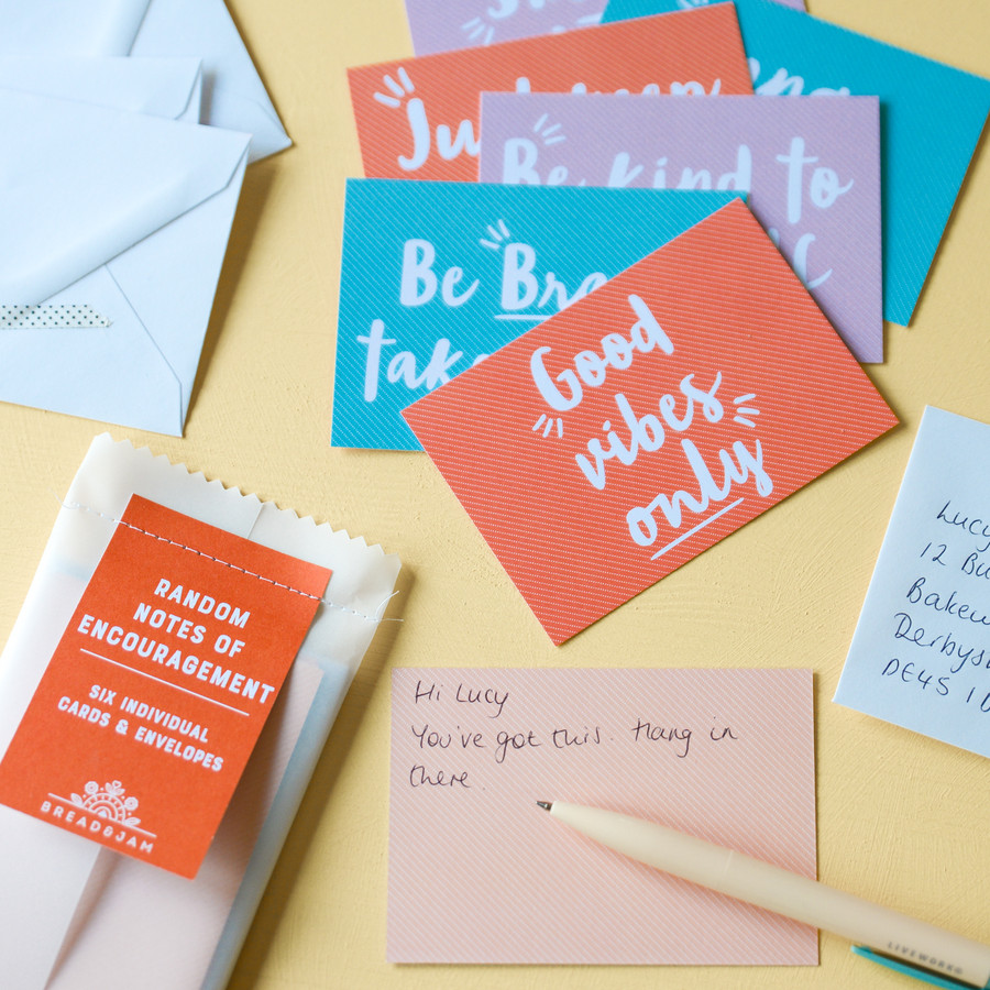 Random Notes of Encouragement