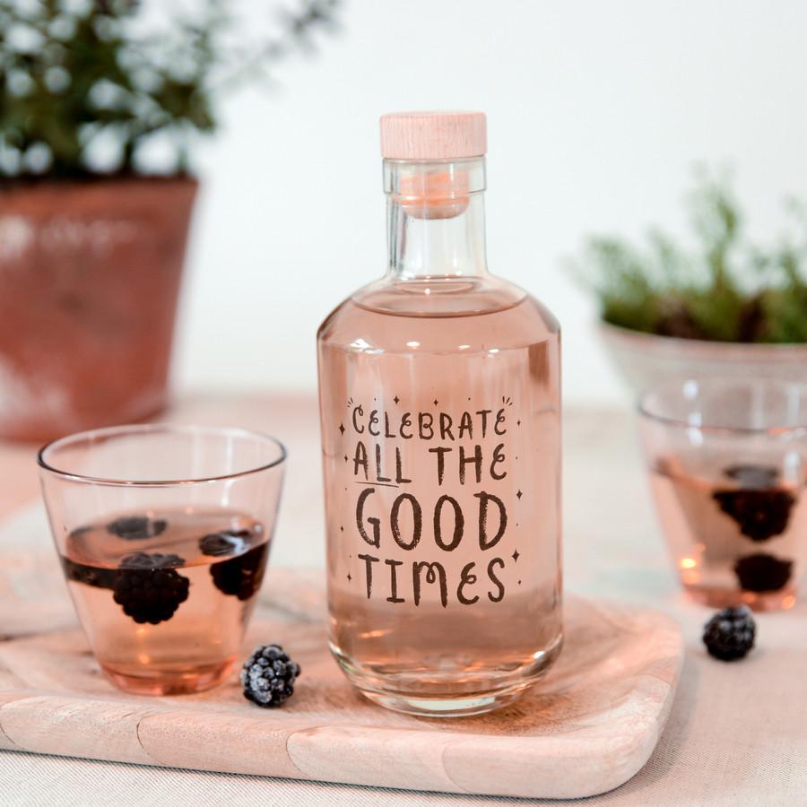 Celebrate Glass Decanter