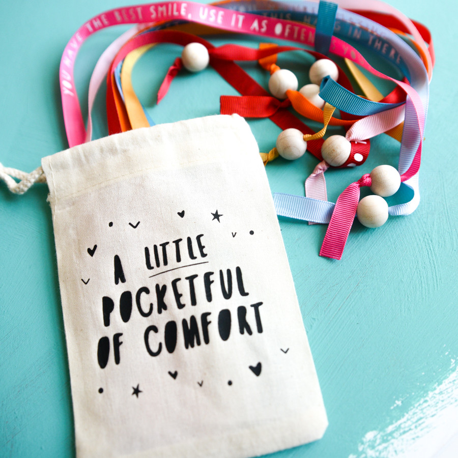 Personalised Little Pocketful Of Comfort Messages