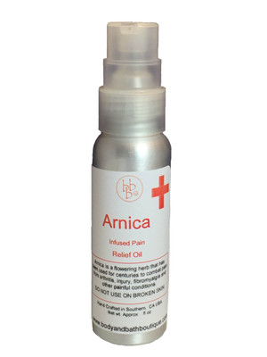 Arnica Infused Pain Oil 4oz