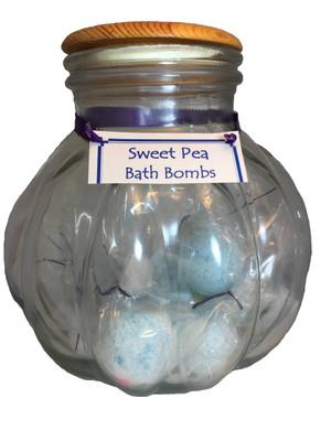Bath - Bath Bomb - Sweet Pea