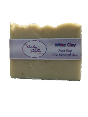 White Kaolin Clay Soap for Normal Skin