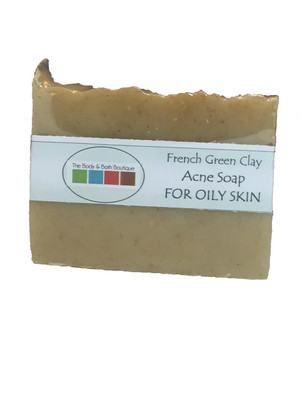 Soap - French Green Clay for Acne or Oily Skin