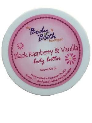 Body Butter - Black Raspberry & Vanilla
