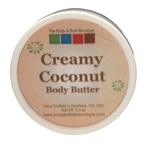 Body Butter - Creamy Coconut