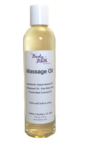 Massage Oil - Unscented - Spa Grade