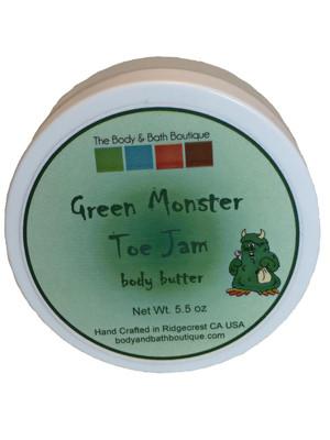 Kids- Green Monster Toe Jam Body Butter