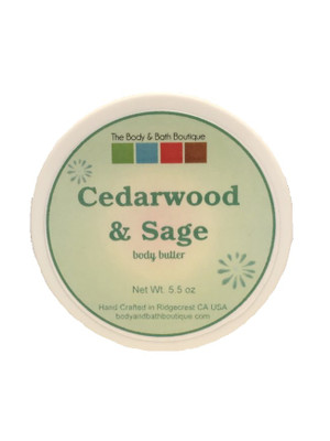 Body Butter - Cedarwood and Sage