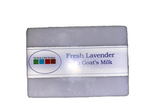 Glycerine Soap w/Goats Milk - Fresh Lavender