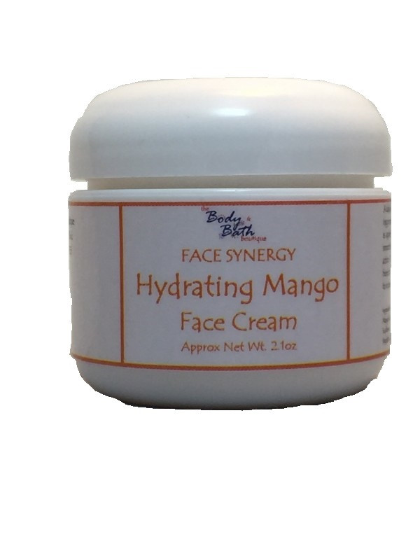 Hydrating Mango Face Cream with Hyaluronic Acid (HA)