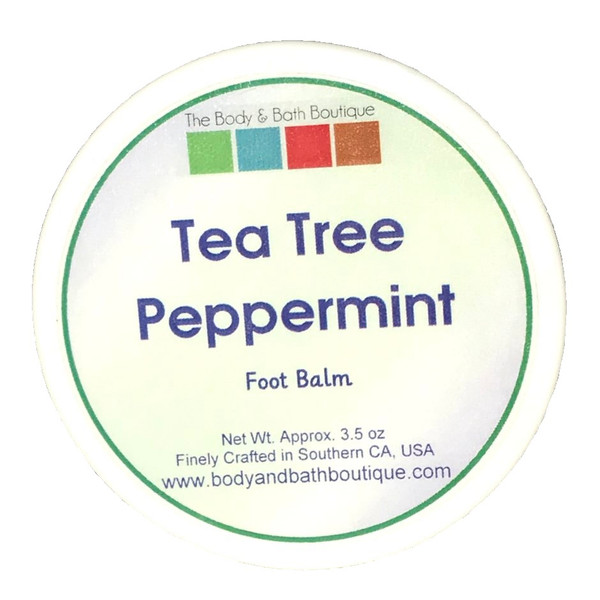 Foot Balm - Tea Tree and Peppermint