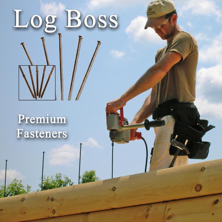 "11"" Log Boss™ Fasteners"