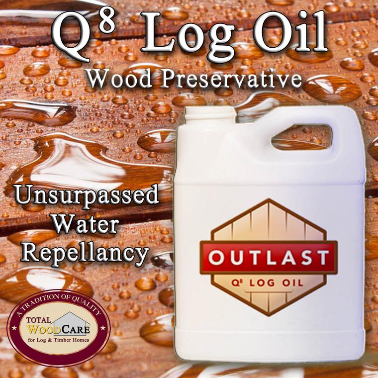 Outlast Q-8 Log Oil (1 Gallon)