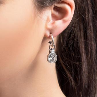 Pretty Woman Hoop Earrings ( E2243 )