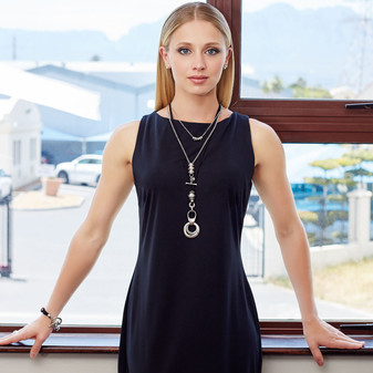 Urban Cool Necklace  ( N1769 )
