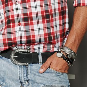 Mason Black Bracelet (MHB41 M)