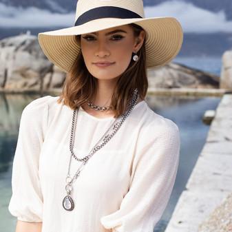 Temptation Drop Earrings - E2847 -  R899 Heritage Necklace - N1631 - 45cm - R899                                                           55cm - R799 Sugar Rock Necklace - N1855 - R699 Ariel Teardrop Pendant - EN1862 - R899