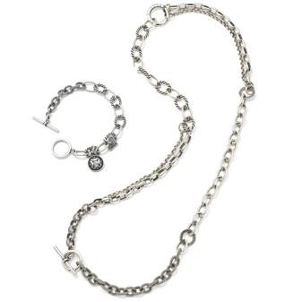 Batik Necklace and Bracelet Set