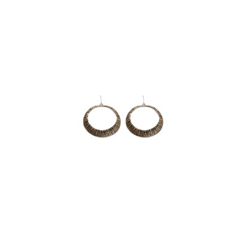 Tribal Gold-Tone Earrings (E2400)