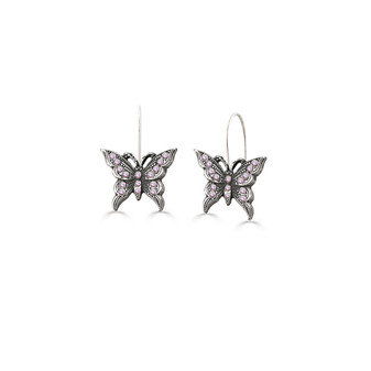 Take Flight Butterfly Drop Earrings
