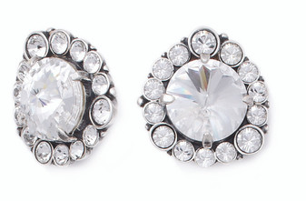 Opulent Clip-on Earrings (E2256)