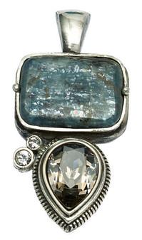 Burnished Silver Pendant